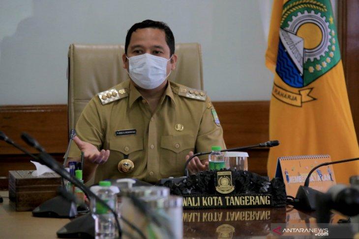 Kota Tangerang saat ini masuk zona orange kasus COVID-19, sebelumnya zona merah