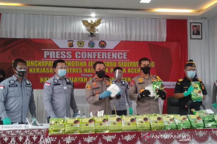 Polisi tembak mati penyelundup narkoba di Aceh Timur