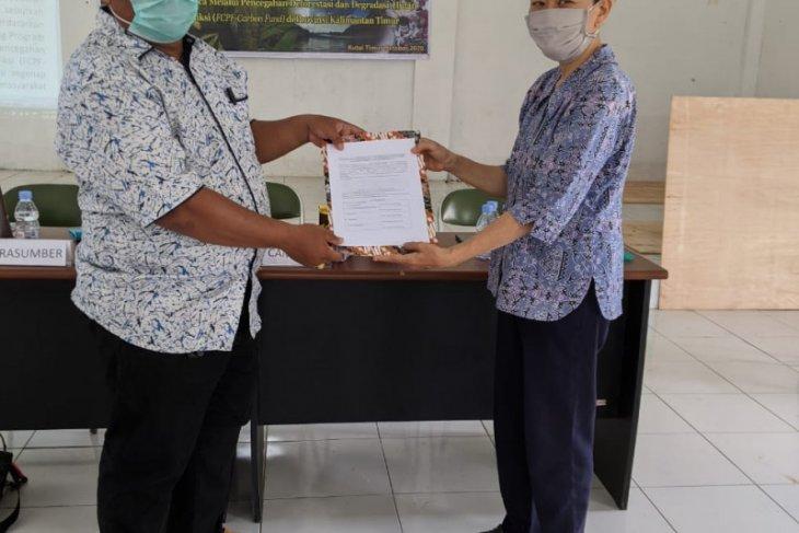 Tim FPIC Kutim Sosialisasi Proklim+ dan PADIATAPA di Desa Long Wehea