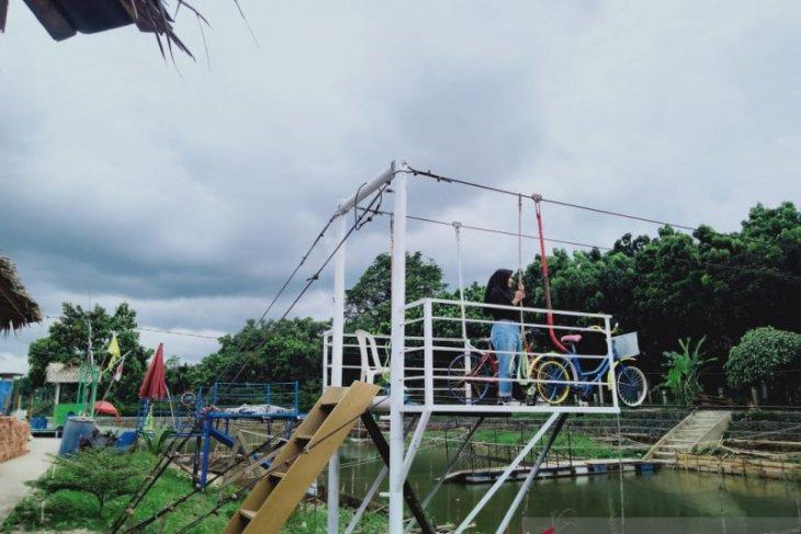Wisata Pulau Kembang Jambi menarik perhatian pengunjung