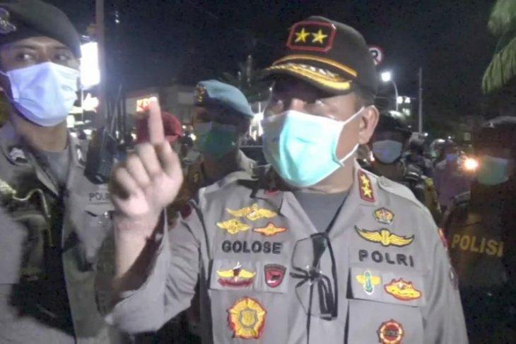 Kapolda Bali: tak ada penangkapan dalam demo