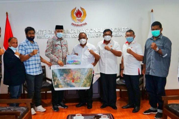 Plt Gubernur Aceh gelar pertemuan dengan Ketum KONI bahas PON