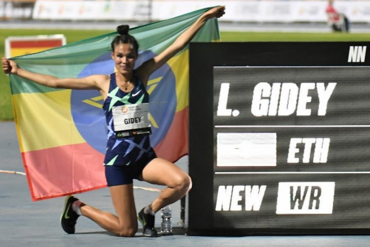 Dua rekor dunia lari tercipta di Valencia World Record Day