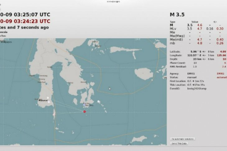 Earthquake of magnitude 5.4 rattles Buton, South Buton districts