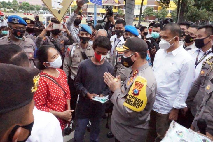Polisi tetapkan 14 tersangka rusuh demo UU Cipta Kerja di Surabaya dan Malang