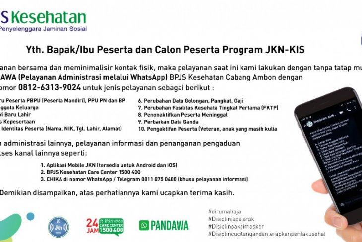 BPJS-Kesehatan Ambon luncurkan aplikasi PANDAWA