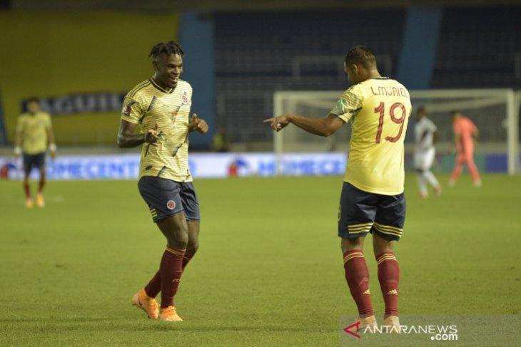 Kolombia awali kualifikasi Piala Dunia dengan gemilang