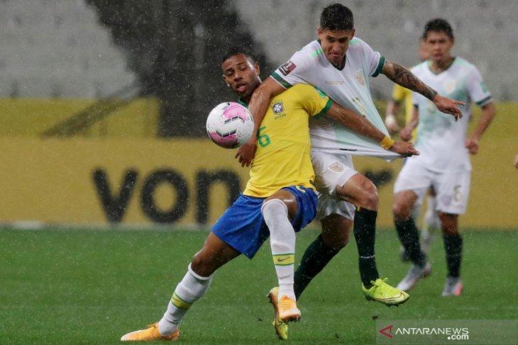 Brazil memimpin klasemen kualifikasi Piala Dunia zona CONMEBOL