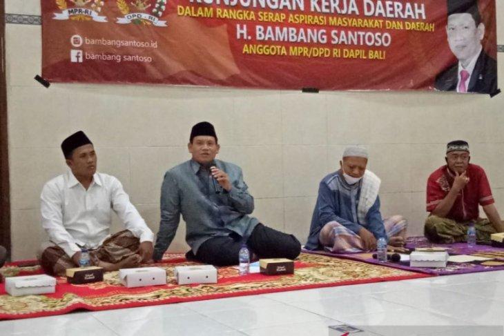 Anggota DPD Bambang Santoso dukung perluasan TPQ Al-Hidayah Gatsu-Denpasar