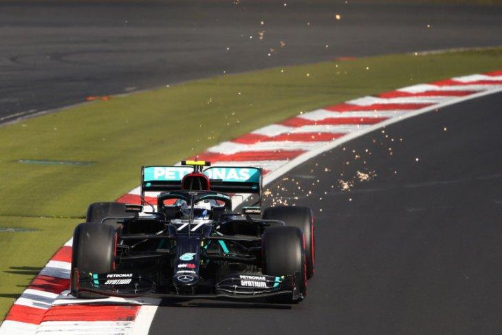 Formula 1: Bottas kalahkan Hamilton untuk rebut pole position GP Eifel