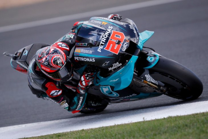 Quartararo rebut pole position GP Prancis