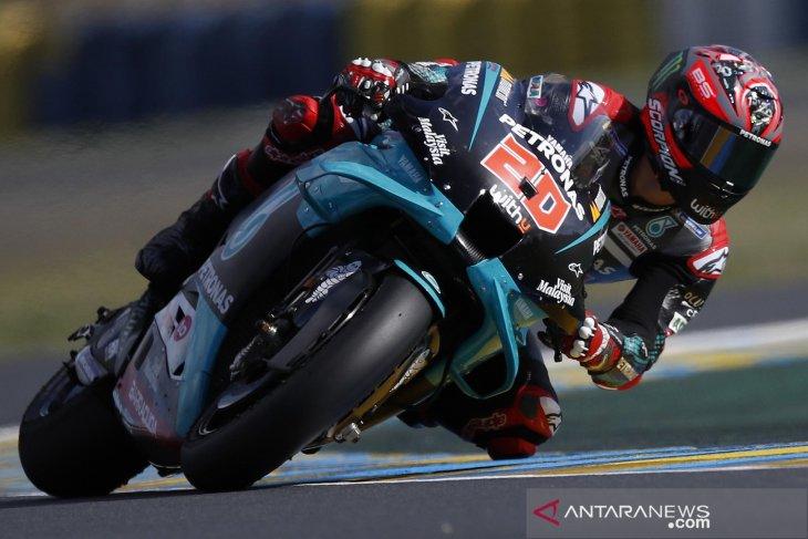 MotoGP: Quartararo rebut pole position setelah kecelakaan saat atihan