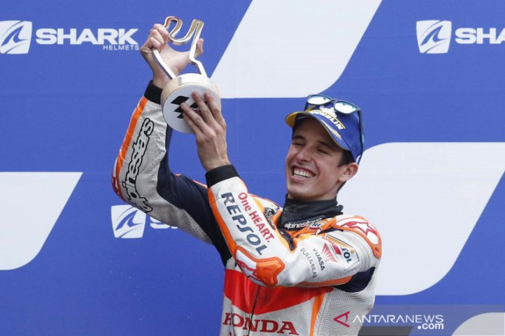 Alex Marquez jatuh di Qatar, tulang metacarpal retak