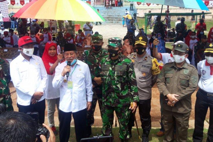 Pangkoopsau III  SMK Dirgantara Indonesia Timur dibangun di Pulau Morotai