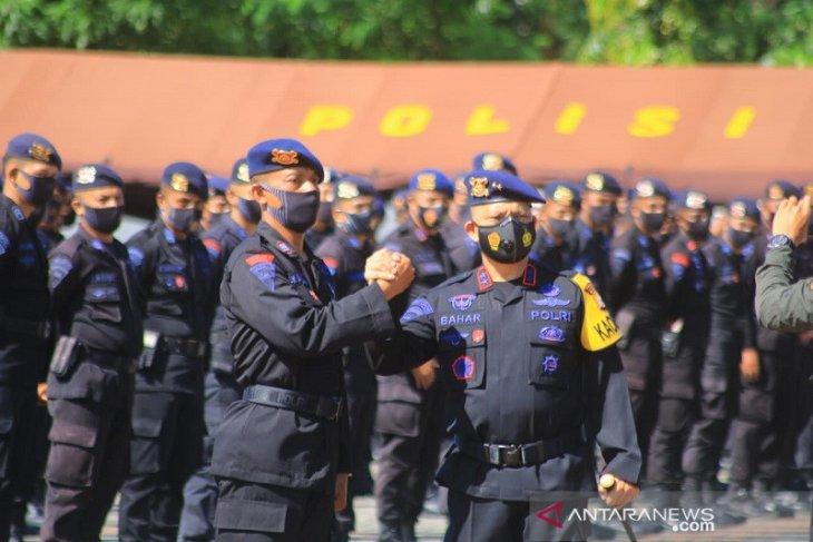 Kapolda  Dua SKK Brimob Polda Maluku BKO ke Jakarta