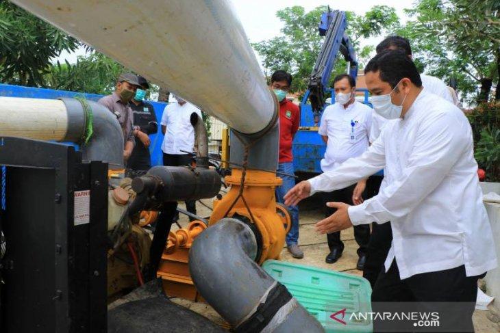 Wali Kota Tangerang : Modifikasi mesin pompa 600 liter/detik tahap penyempurnaan