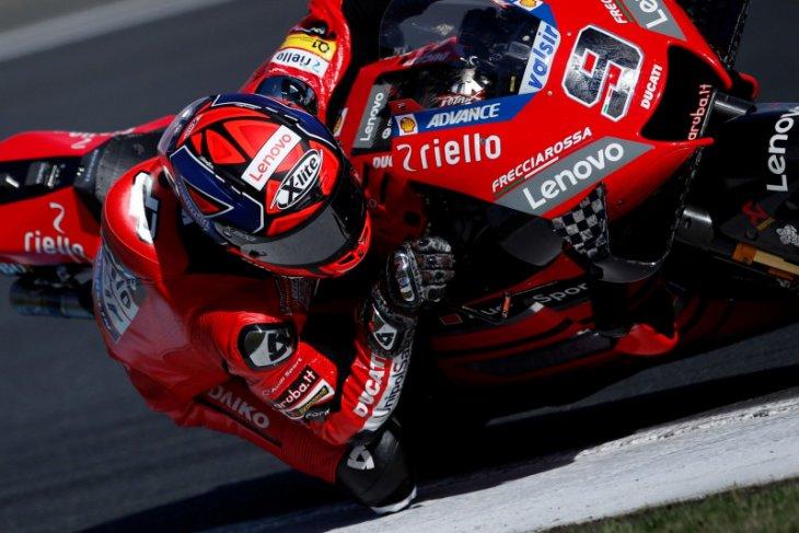 Lima Ducati terdepan mengancam di Le Mans