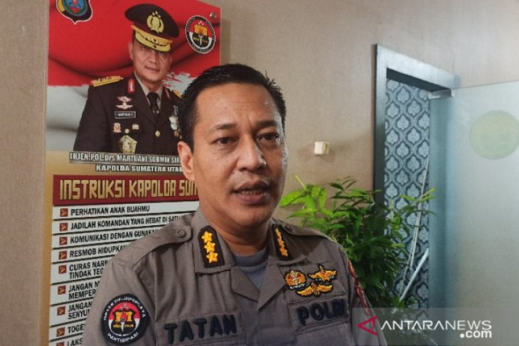Polisi ungkap identitas pelaku pelempar batu dari atas Gedung DPRD Medan