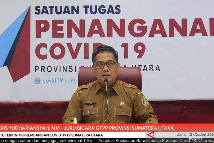 Satgas: Angka kesembuhan COVID-19 di Sumut sudah setara nasional