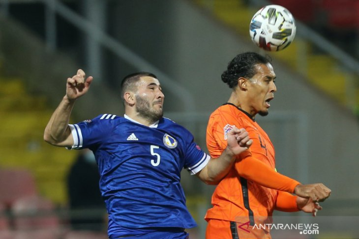 Belanda imbang tanpa gol oleh Bosnia-Herzegovina