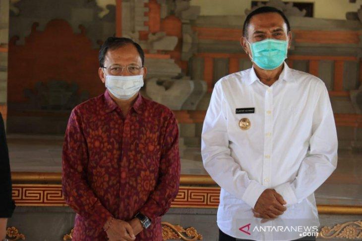 Bupati Ende temui Gubernur-Wagub Bali guna minta masukan pariwisata
