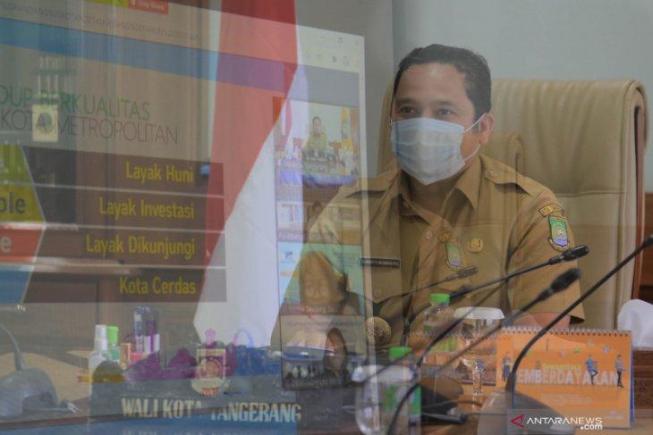 Wali Kota Tangerang bagi pengalaman kepemimpinan ke Satker RRI