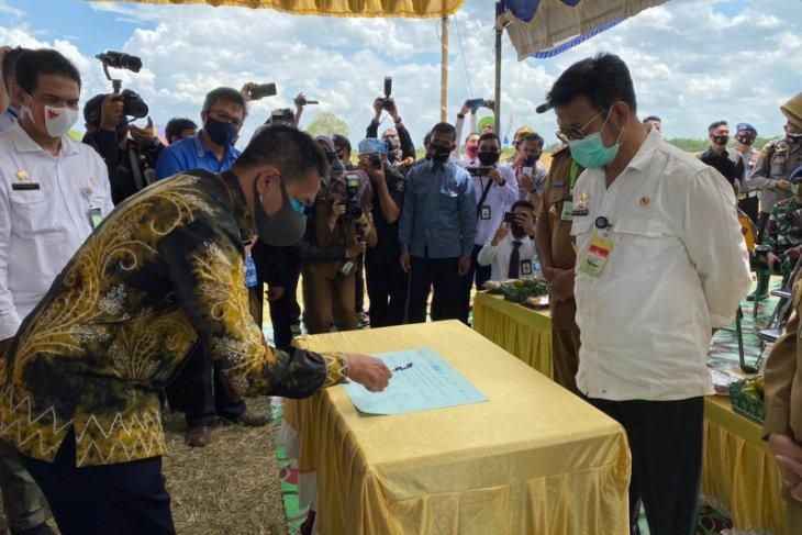 Bank Kalsel dukung petani tingkatkan produksi penuhi ketahanan pangan nasional