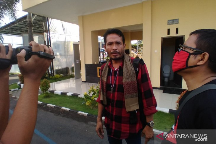 Polresta Banyuwangi tetapkan aktivis antimasker sebagai tersangka