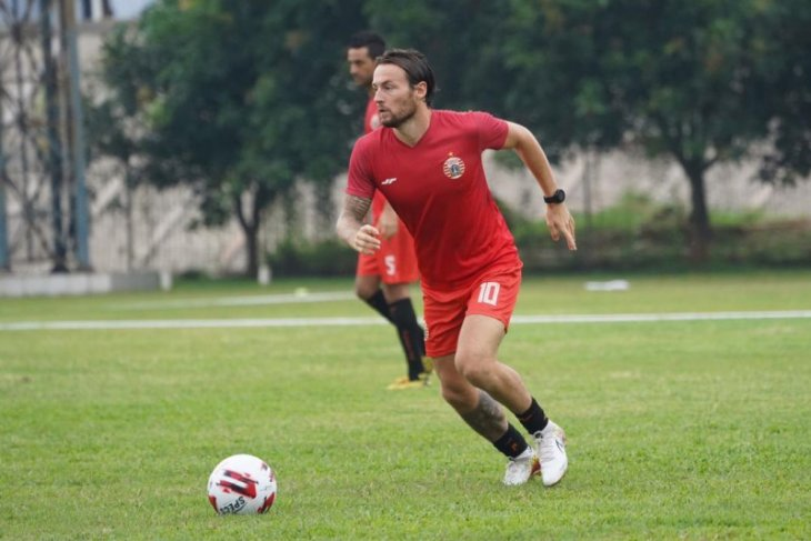 Klok dab Osvaldo cetak dua gol dalam laga internal Persija, bagian dari latihan
