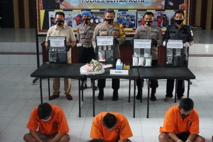 Penyelundupan narkotika ke rutan digagalkan polisi
