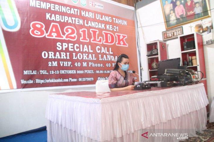 ORARI meriahkan perayaan HUT ke-21 Pemkab Landak