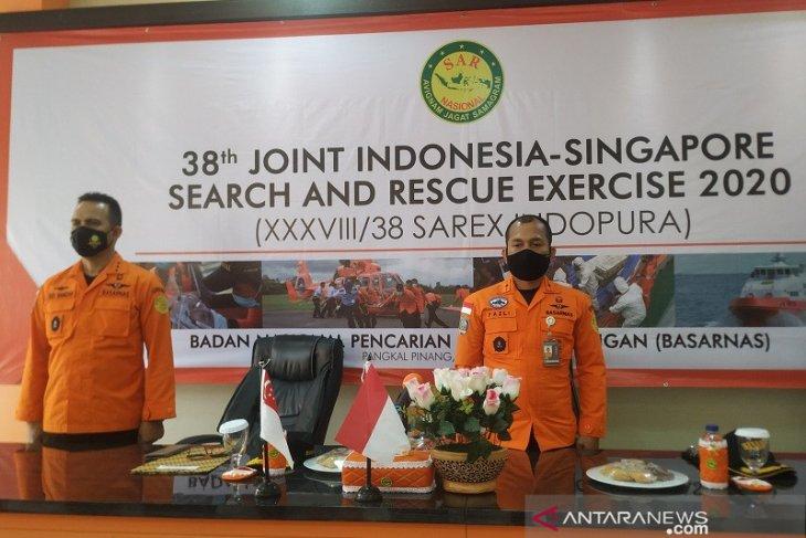 SAR Indonesia-Singapura latihan bersama tangani kecelakaan pelayaran