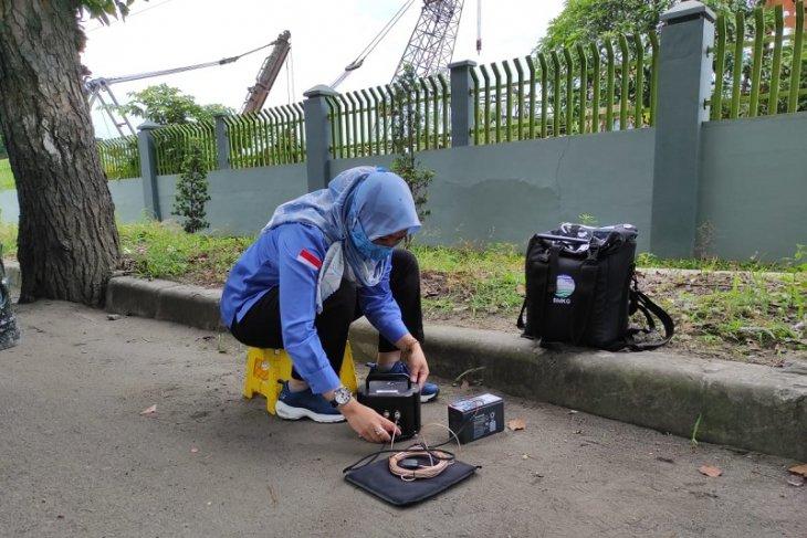 BMKG lakukan pengukuran struktur tanah  tahap akhir di Medan