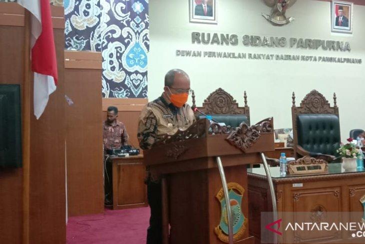 Molen Sampaikan Propemperda Kota Pangkalpinang Tahun 2021