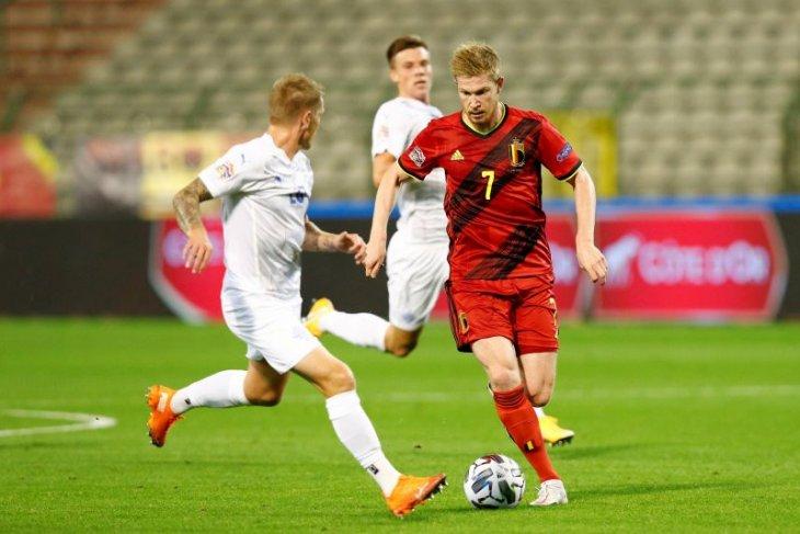 De Bruyne undur diri dari timnas Belgia dan kembali ke Manchester City