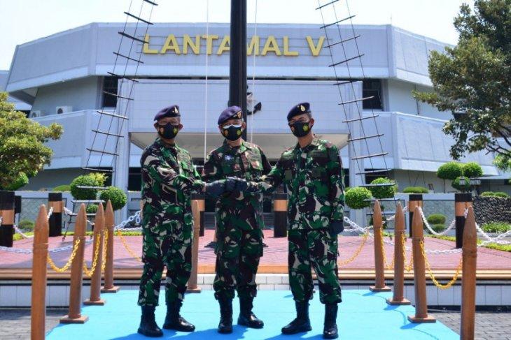 Laksma TNI Mohamad Zaenal jabat Komandan Lantamal V Surabaya