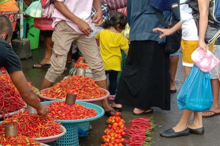 Harga cabai di pasar tradisional Ambon naik