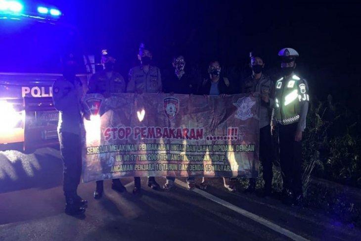 Satgas Karhutla Polda tingkatkan patroli malam hari