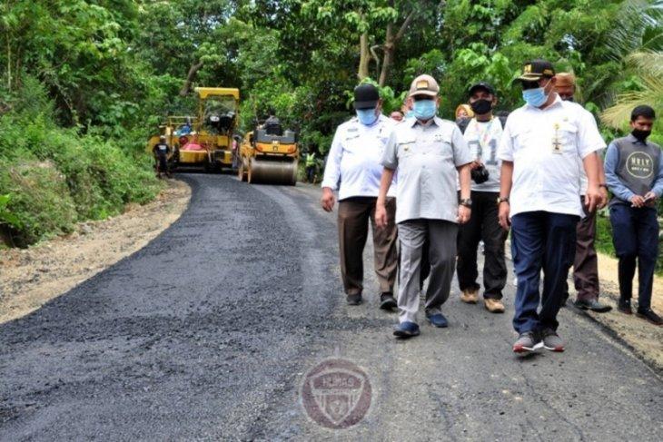 Pemprov : pembangunan jalan Pilolalenga-Biluhu selesai November