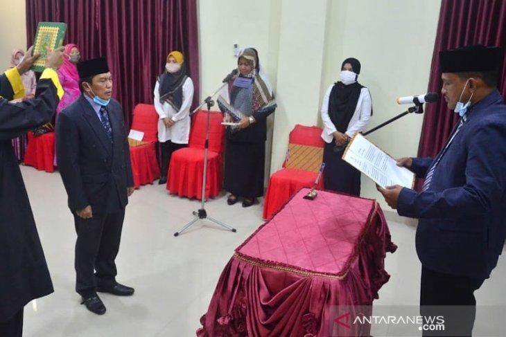 Bupati Aceh Timur lantik kaban Kesbangpol, ini harapannya