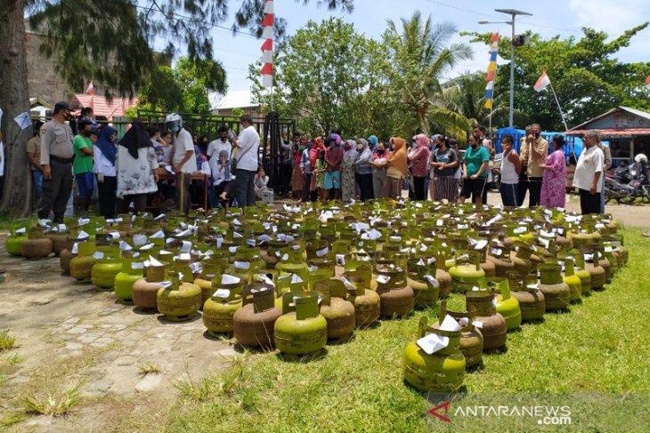 Disperindag Kota Bengkulu operasi pasar elpiji 3 kg