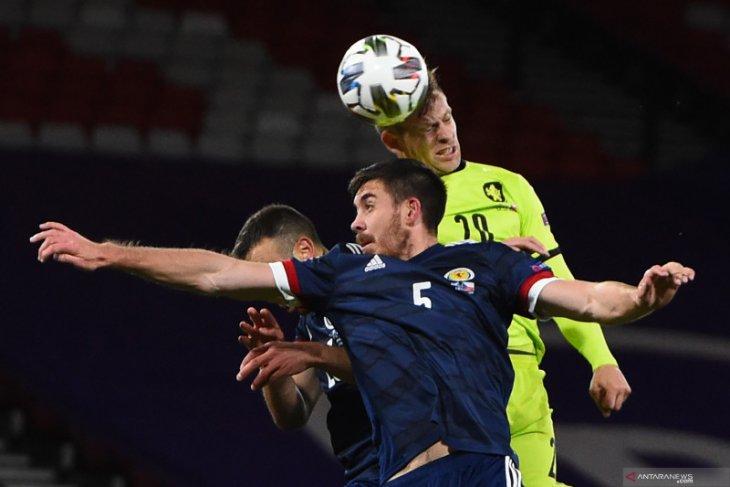Liga Nasional UEFA, Skotlandia perpanjang catatan kemenangan setelah pukul Ceko 1-0