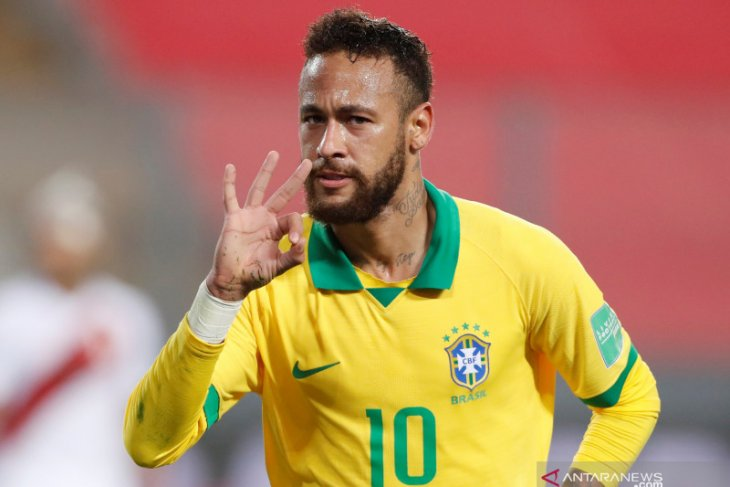 Neymar lampaui catatan gol Ronalado, CR7 beri ucapan selamat