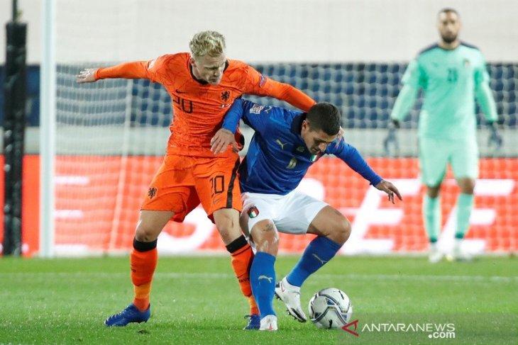 Italia dan Belanda berbagi poin selepas main imbang 1-1