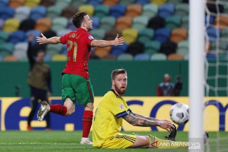 Portugal hantam Sweida dengan skor 3-0