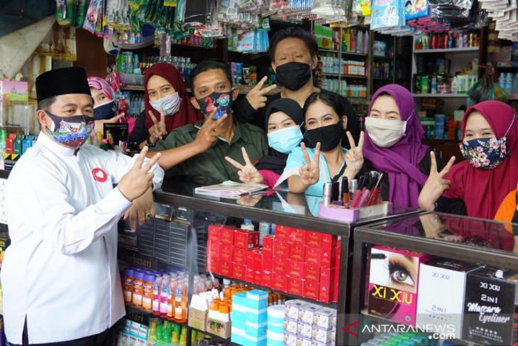 Cawali H Ibnu Sina blusukan Ke Pasar Antasari