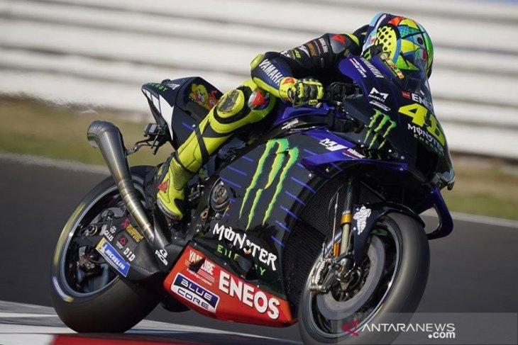 Rossi tidak turun di Aragon, Yamaha tak siapkan penggantinya