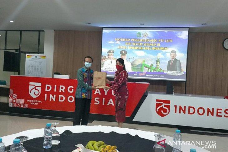 LKPD 2019 Kota Singkawang raih penghargaan WTP dari Kemenkeu