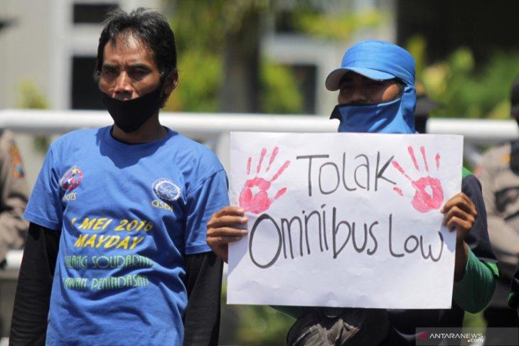 Antisipasi demo, Polisi tutup akses menuju Istana Merdeka