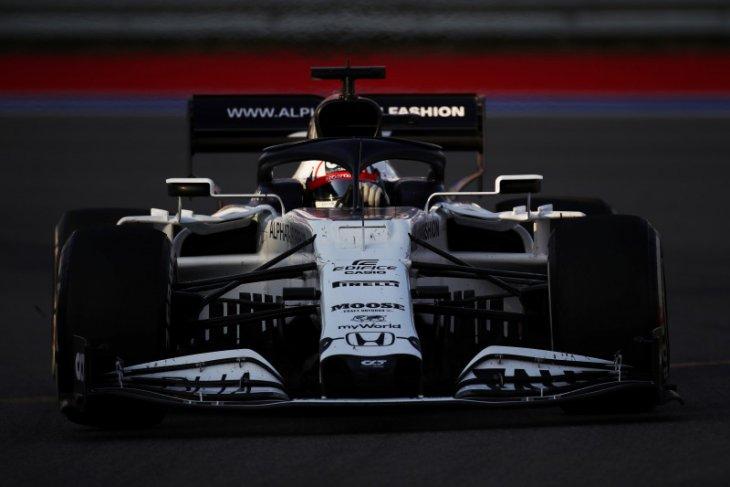 Pebalap Jepang Tsunoda akan jalani debut tes F1 bersama tim AlphaTauri di Imola